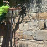 stone wall repairs